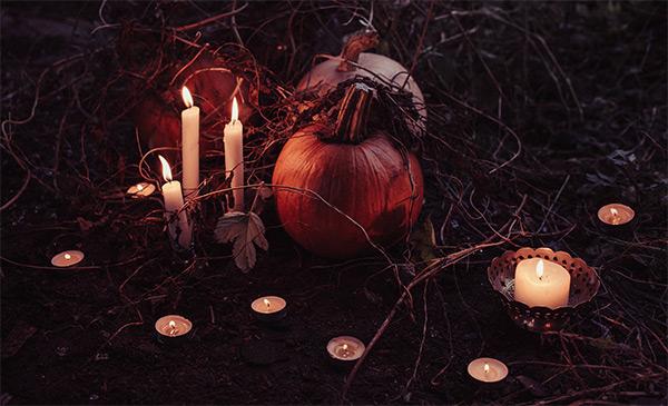 Pumpor är vanligt när vi firar halloween