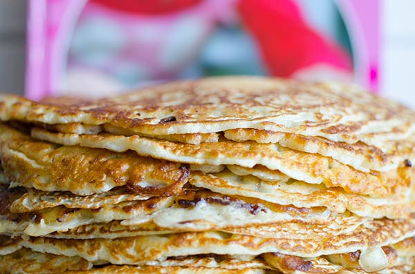 Internationella pannkaksdagen den 25 februari