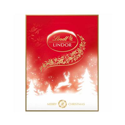 Lindt Adventskalender med choklad