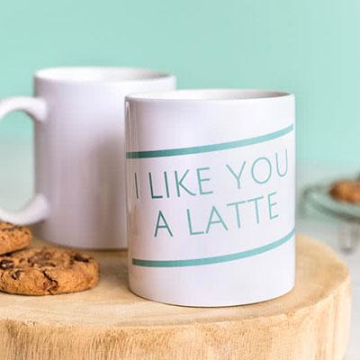 Personlig kaffemugg