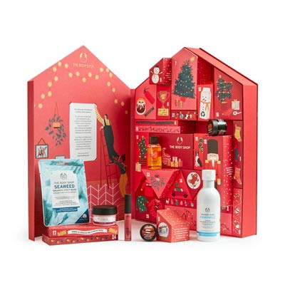 Tips på adventskalender: The Body Shop